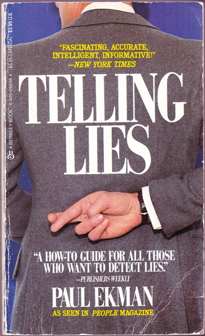 Telling Lies Book Cover
